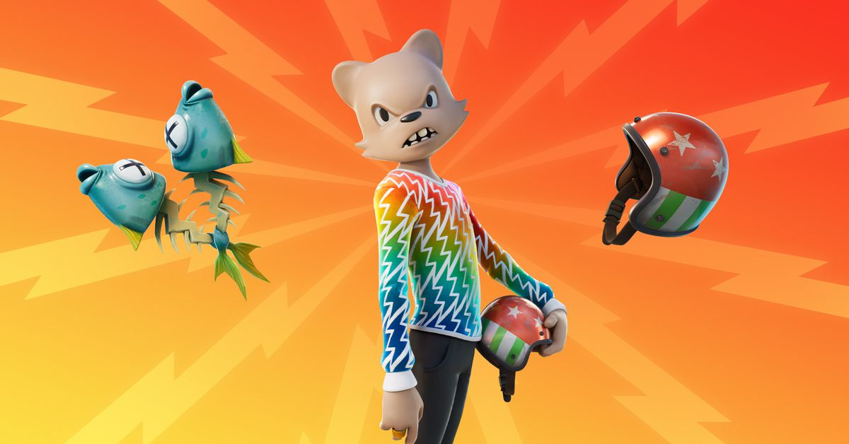 Fortnight added another virtual influence to its war royals.